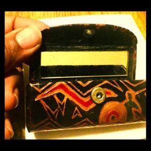 African design lipstick/lip gloss holder